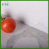 Countertop кварца Calacatta белый Prefab для кухни