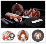 Диск вырезывания алюминиевой окиси 180X1.6X22.2mm Inox Yongkang истирательный одиночный