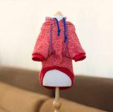 Hoodie fondamental coloré pour le vêtement de Hoodie d'animal familier de crabot