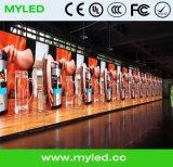 Afficheur LED de Module de fer de HD P4 SMD/panneau-réclame normaux extérieurs de la publicité