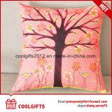 卸売によってカスタマイズされる美しい綿のリネン正方形の枕/Sofaのクッションカバー