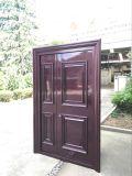 O estilo francês da porta de alumínio