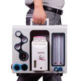 Máquina portable de la anestesia del aparato de la anestesia del equipamiento médico del Ha-P de la alta calidad (v)