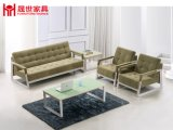 現代オフィス用家具の革ソファーセット