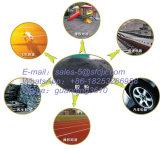 Ligne de recyclage automatique des pneus usés en poudre de caoutchouc