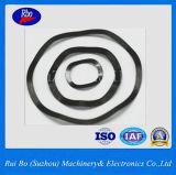 Arruela de fechamento de aço da mola da onda da gaxeta do metal do aço inoxidável DIN137