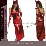 Платье женское бельё PU сексуальных прозрачных горячих женщин сексуальное кожаный (TLQZ11429)