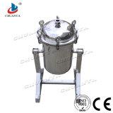 La separación de líquidos de tipo perno de giro de la caja del filtro
