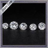중국은 1CT Moissanite에게 둥근 Forever를 1개의 E 백색 가장 정밀한 다이아몬드 Moissanite 만든다