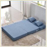 携帯用快適な寝台兼用の長椅子、居間のスリープの状態であるソファーベッド195*150cm