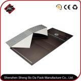 Caixa de presente magnética de papel de empacotamento de dobramento personalizada do logotipo do projeto