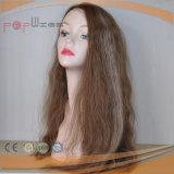 Belle longue perruque de cheveux bouclés Humaine (PPG-L-00006)