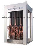 """Échangeur de chaleur à couche descendante de """" 304 d'acier inoxydable de plaque échangeurs de chaleur soudés """""""