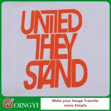 Vinyl van de Overdracht van de Hitte van de T-shirt van de Verkoop van China het Hete