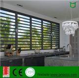 Feritoie di alluminio Windows della stanza da bagno di economia con gli otturatori di vetro