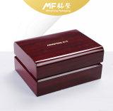 Eco haltbare Luxuxlebendmasse Hoch-Glatter Bambus-Plastikuhr-Geschenk-Kasten