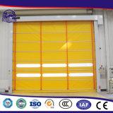 Interior automático rápido das portas do PVC do preço de grosso da fábrica feito em China