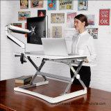 """Loctek 35 """"Wide Platform Height Ajustável Stand Desk Riser, Sit-Stand Workstation, Branco (MT101M)"""