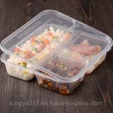 Pp. löschen Wegwerffach-Plastikmittagessen-Kasten