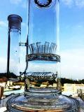 Tubulação de água de fumo de vidro fundida mão da plataforma petrolífera de Perc da matriz