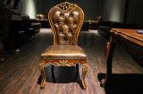Vintage ретро стиле цельной древесины обеденный стул