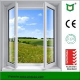 Окно Casement профиля самомоднейшей конструкции алюминиевое с Tempered стеклом