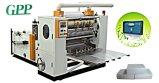 N totalmente automática máquina de plegado de papel toalla de mano