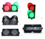 свет лампы островка безопасност соединения дороги желтого зеленого цвета 300mm красный