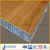 木製の穀物の正面のカバーのためのアルミニウム蜜蜂の巣のパネル