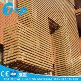 Панель строительных материалов вентиляции максимума отверстий установки стены декоративная