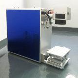 Машина маркировки отметки лазера волокна миниая для металла