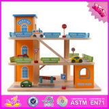 2.016 NOVOS Produtos crianças Estacionamento Madeira Definir brinquedos W04b036