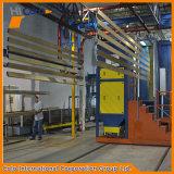 Profil en aluminium compact Ligne de revêtement en poudre