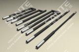 Four de tube électronique de température élevée avec le tube d'Alundum