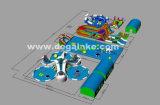 Parque de diversões inflável do projeto 2017 novo, parque da água