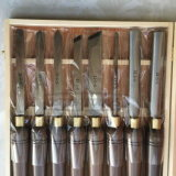 Kit d'outils de tournage en bois HSS pour le travail du bois