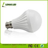 2017 Chine Fournisseur LED Ampoule en plastique Ce Ce RoHS Économie d'énergie LED Ampoule haute puissance B22 12W SMD5730 ampoule LED