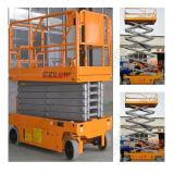 10m motorizado ruedas motrices Plataforma elevadora de tijera de elevación vertical Autopropulsada tijera