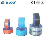 Tubo flessibile pneumatico dell'aria del materiale dell'unità di elaborazione 4mm del poliuretano per il compressore
