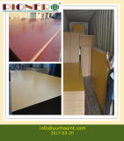 Carb P2 Certificate MDF Board with Melamine Faced for Furniture