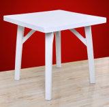 최고 가격 도매 옥외 식사 플라스틱 정연한 테이블