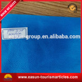 Caja de la almohadilla del hotel con la insignia del color del cliente azul de $