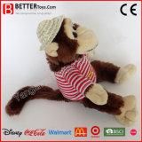 Jouet de singe bourré par animal mol de peluche pour des enfants