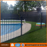 미국 캘리포니아 Au Nz 시장을%s 1200mm 높은 안전 검정 강철 편평 정점 수영장 담