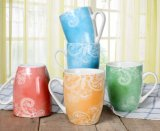 Tasses de café en bloc bon marché en céramique neuves de tasses de café de tasse de café