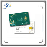 PVC impreso Sle4442 / 4428/5542/5528 tarjeta de chip de contacto