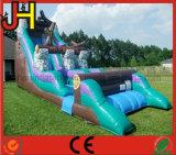Diapositiva inflable comercial para el juego al aire libre