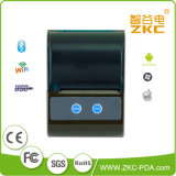 Impressora de recebimento térmico portátil sem fio Bluetooth de 58mm