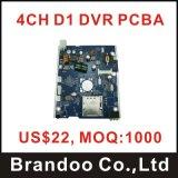 DVR CCTVのための記録Mainboard Moduel 4チャネルのボード