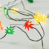 Multi Color Seaweed Battery Operated Fil d'Argent Light cordes